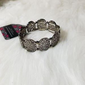NWT Gunmetal Bracelet